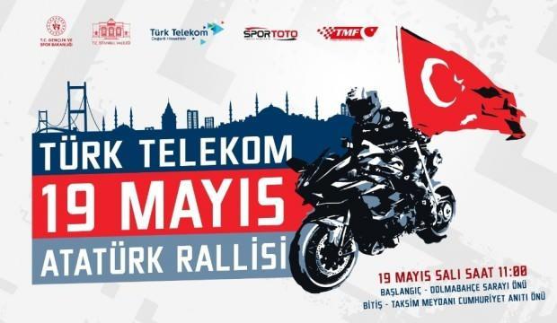 Kenan Sofuoğlu'ndan 19 Mayıs'ta Türkiye tanıtımı