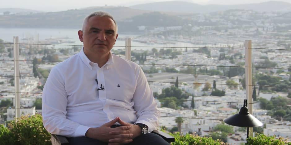 """Kültür ve Turizm Bakanı: """"İç turizmi açıyoruz dış turizmi kademeli açacağız"""""""