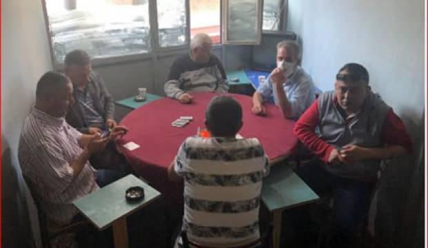 Kumar masasında yakalandılar, 95 bin 900 lira ceza yediler