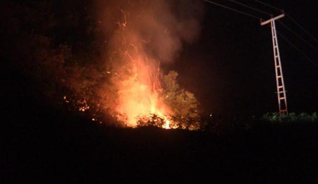 Rize'de orman yangını: Yol olmadığı için müdahale edilemiyor