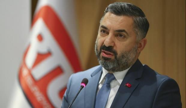 RTÜK Başkanı Şahin'den Sevda Noyan açıklaması