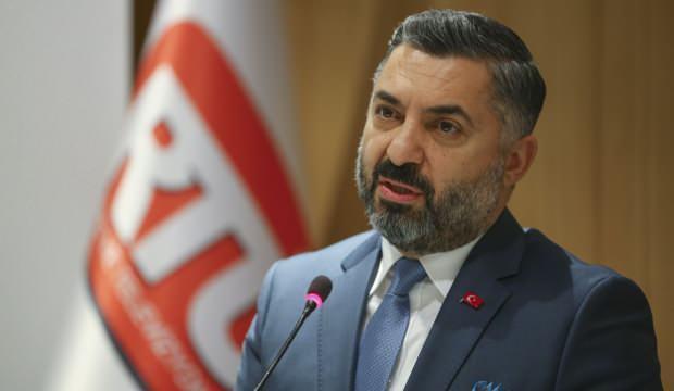 RTÜK Başkanı Şahin'den CHP'li Engin Altay'a sert sözler
