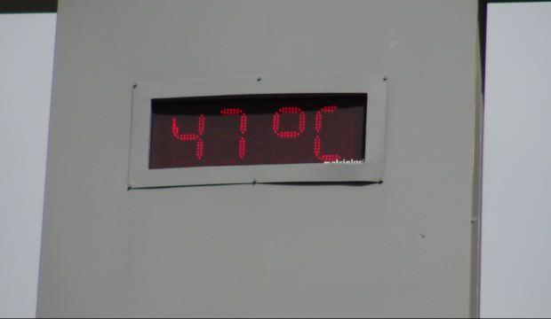 Siverek'te termometre 47 dereceyi gördü!