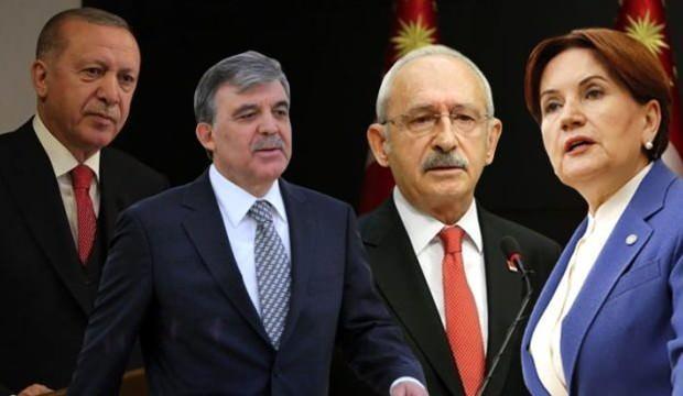 Son seçim anketi: Erdoğan hepsine büyük fark attı
