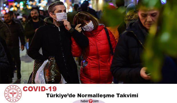 Türkiye'de normalleşme takvimi açıklandı! Corona Virüs ne zaman etkisini kaybedecek?