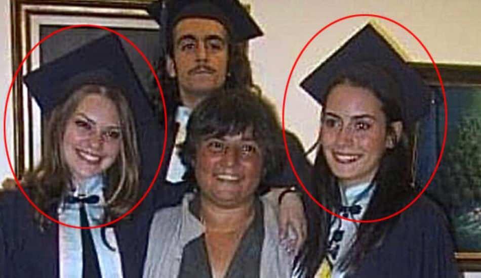 Aslı Enver'le Melisa Sözen'den mezuniyet pozu! Üniversite yıllarını beraber geçirmiş ünlüler