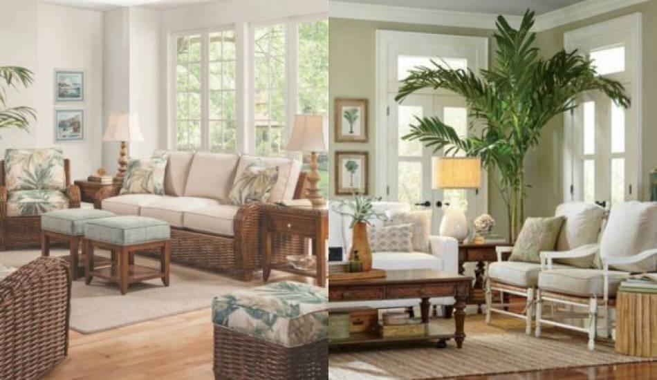 Yaz ayları için salon dekorasyonu fikirleri