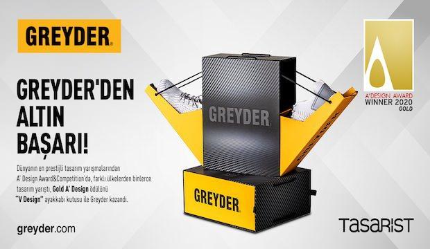 Greyder'den altın başarı