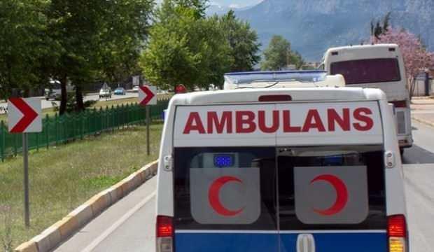 Bunu da gördük! Ambulansla yazlığa giderken yakalandılar
