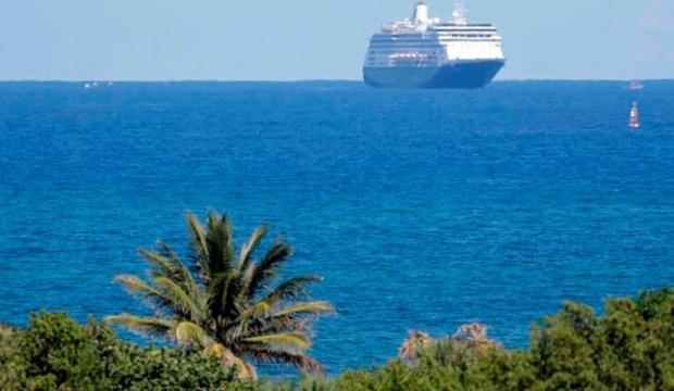 Cruise gemilerin yeni rotası Akdeniz