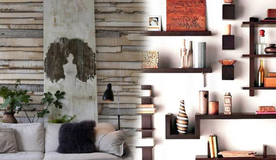 Duvar dekorasyonu fikirleri! Duvarların sıkıcılığını ortadan kaldıran dekorasyon fikirleri