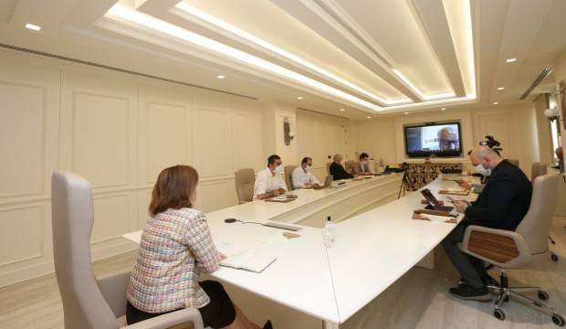 Gaziantep Büyükşehir Belediye Başkanı Fatma Şahin, Ortadoğu liderleriyle bir araya geldi