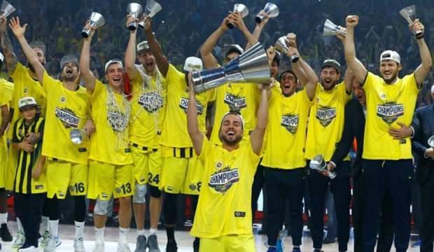 Fenerbahçe, Euroleague şampiyonluğunun 3. yılını kutladı