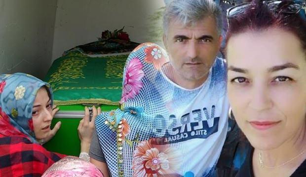 Kızının gözü önünde kocası tarafından öldürdü!