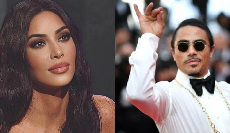 Nusret'ten Kim Kardashian'a videolu lahmacun göndermesi!