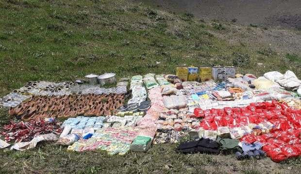 PKK'ya bir darbe daha! 5,5 ton tahıl ve kuru bakliyat ele geçirildi