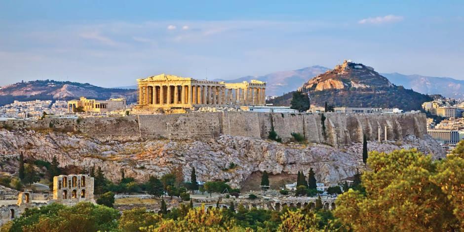 Yunanistan'ın sembolü Akropolis Tapınağı ziyarete açıldı