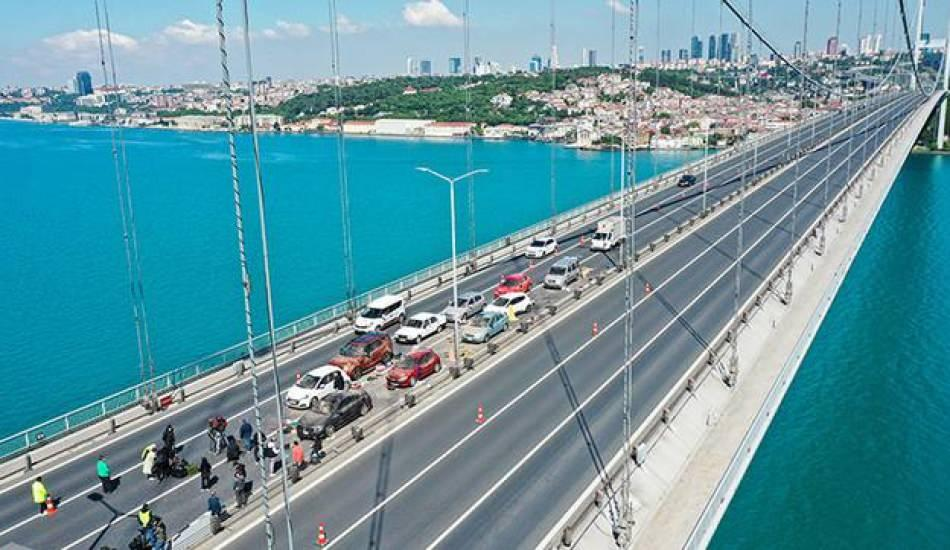 15 Temmuz Şehitler Köprüsü film seti oldu!