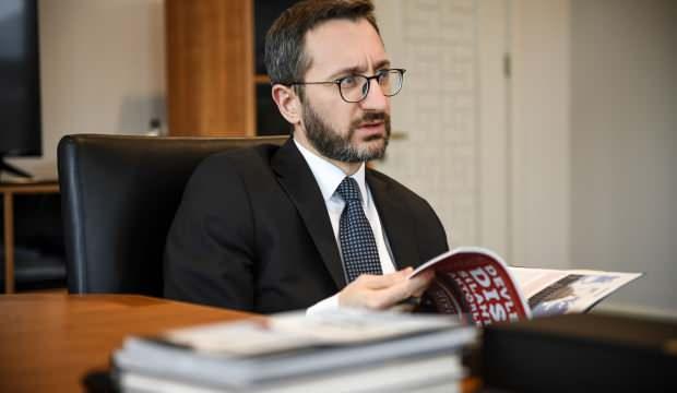 İletişim Başkanı Fahrettin Altun'dan provokatif saldırıya sert tepki