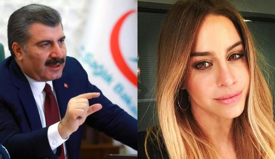 Büşra Pekin'den Sağlık Bakanı Fahrettin Koca paylaşımı!
