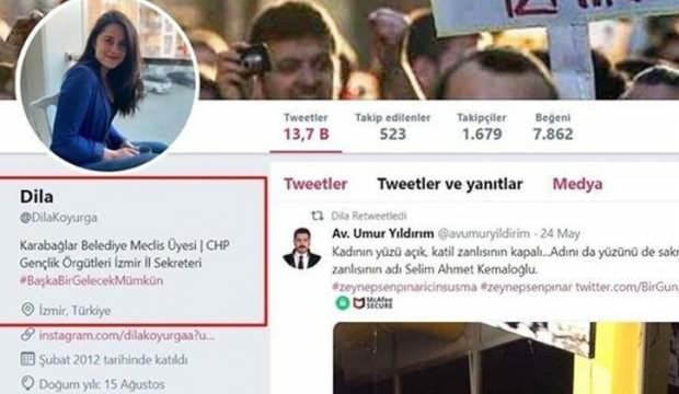 Cumhurbaşkanı Erdoğan'a hakaret eden CHP'li Dila Koyurga hakkında suç duyurusu