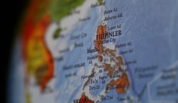 Filipinler'de 5.5 büyüklüğünde deprem!