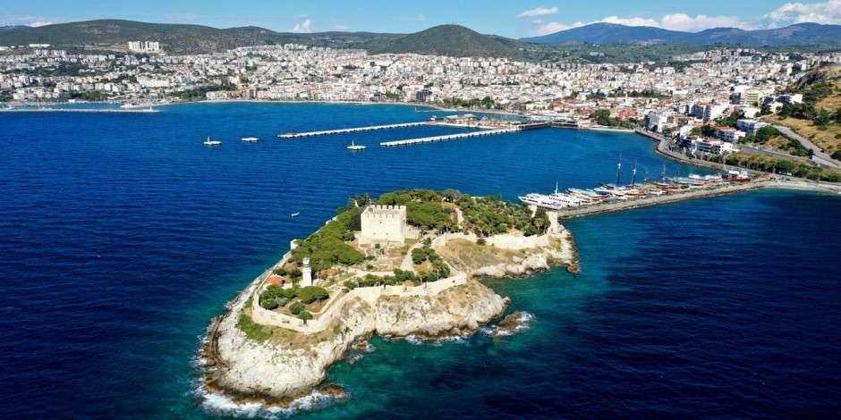 Güvercinada Kalesi UNESCO listesinde