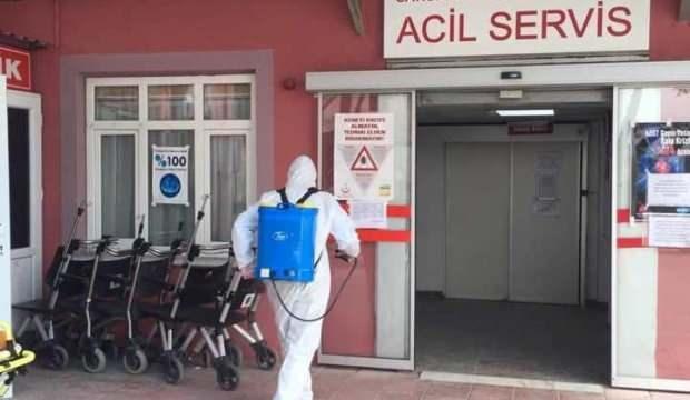 Sağlık çalışanlarında koronavirüs çıktı: Hastane geçici olarak kapatıldı