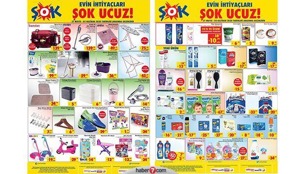 ŞOK 31 Mayıs aktüel ürünler kataloğu  Temizlik ürünleri ve elektrikli ev aletlerinde kampanya!
