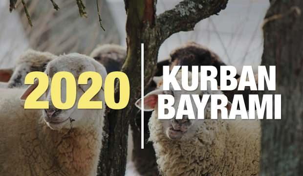 2020 Kurban Bayramı ne zaman? Kurban Bayramı'nda kaç gün tatil olacak?