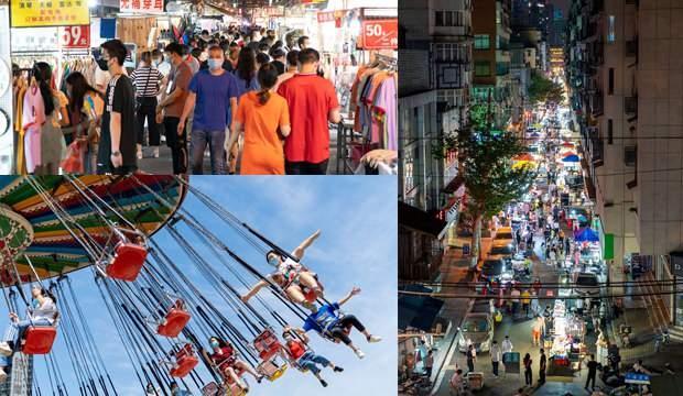 Kovid-19'un çıktığı merkez: Dünya evde Wuhanlılar eğlencede