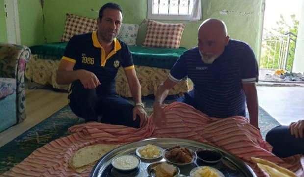 Hikmet Karaman, Başkan Gevrek'in baba ocağına hayran kaldı
