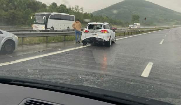 Ankara otobanında zincirleme kaza