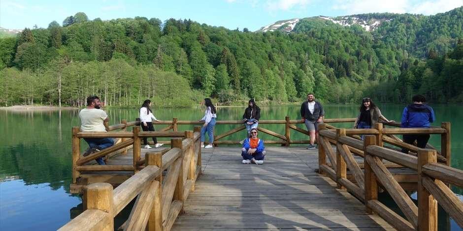 Borçka Tabiat Parkı'nda korona sessizliği sona erdi