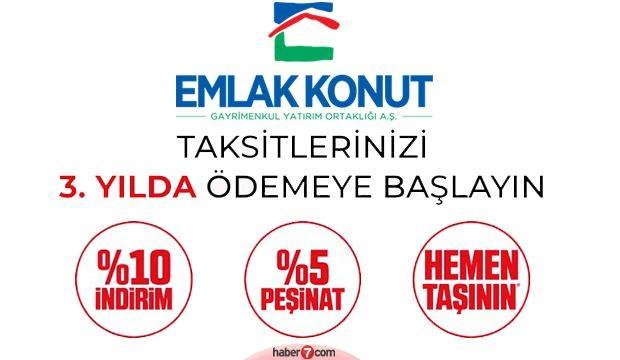 Emlak Konut projeleri, fiyatları ve kampanya detayları! İstanbul, İzmir, Ankara, Konya..