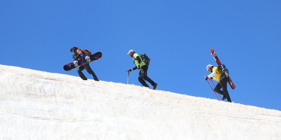 Haziran'da kayak keyfi
