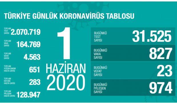Son dakika haberi: 1 Haziran koronavirüs tablosu! Vaka, ölü sayısı ve son durum açıklandı