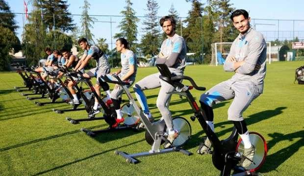 Trabzonspor'da futbolcular performans testinden geçti