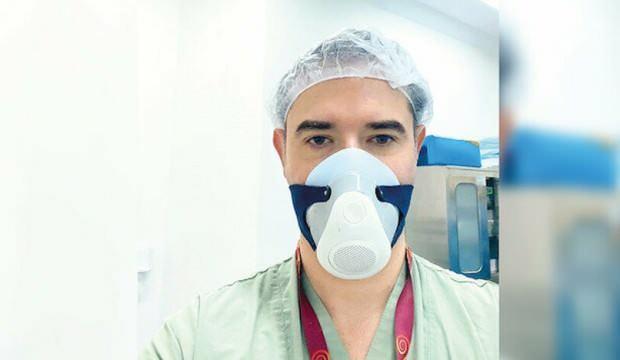 Akıllı maske üretildi: Ateş ölçüyor, kendi kendini dezenfekte ediyor