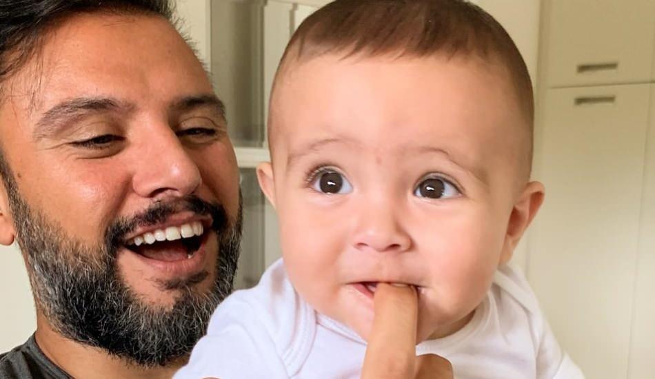 Alişan'ın oğlu Burak babasını duyunca eşlik etti