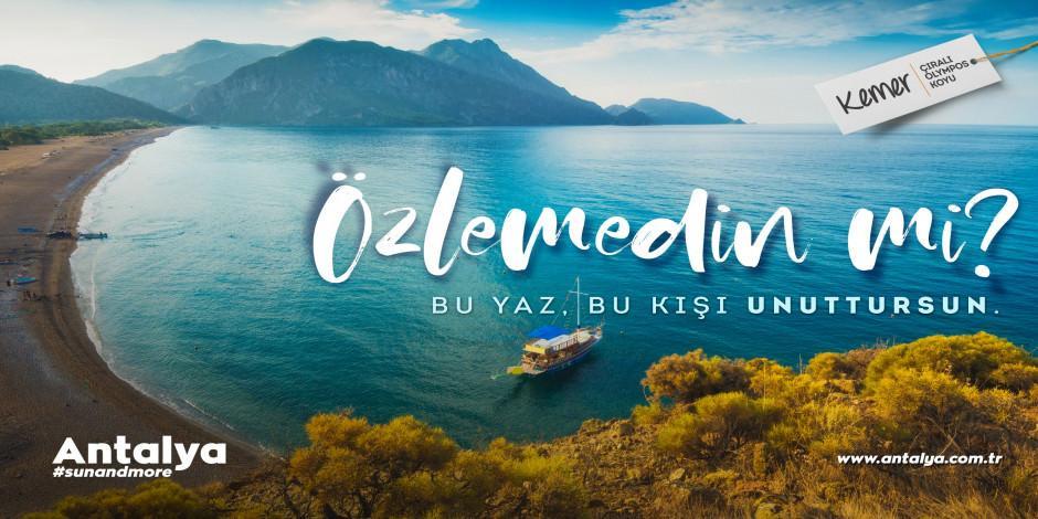 Antalya dijital turizmde tek destinasyon oldu