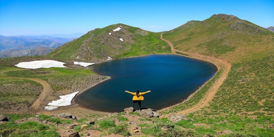 Bingöl'ün kalp şeklinde gölü: Grendal