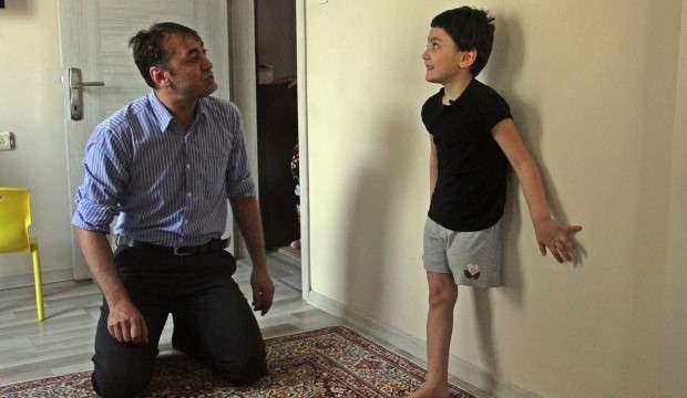 Bir babanın boğazını düğümleyen soru: Bacağım yok, koşabilecek miyim?