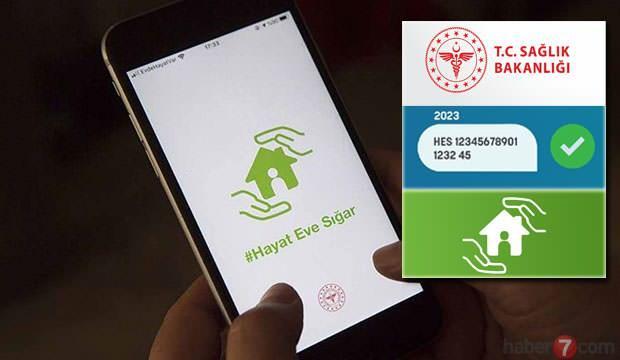 HES kodu nasıl alınır? Seyahat için SMS ve Hayat Eve Sığar uygulaması HES kodu alma!