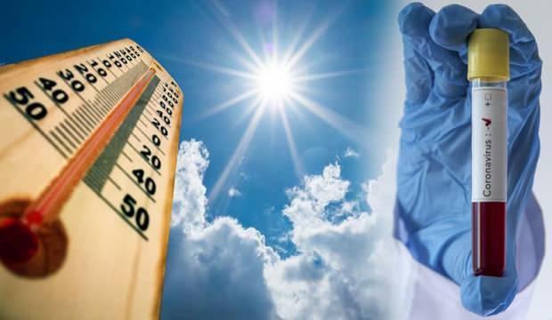 Koronavirüs ve sıcak havanın ilişkisini vakaların arttığı ilimizi örnek göstererek açıkladı