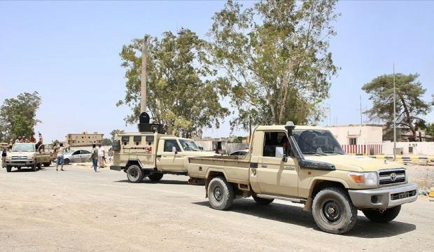 Libya ordusundan Hafter güçlerine hava operasyonu