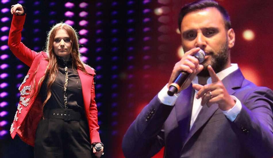 Mihriban türküsünü okuyan Demet Akalın'ın performansı beğenilmeyince Twitter'da trend oldu