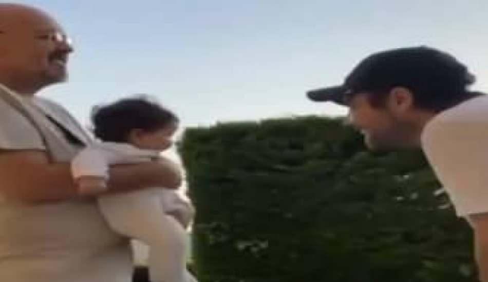 Murat Dalkılıç, Hande Erçel'in yeğeniyle eğlendi
