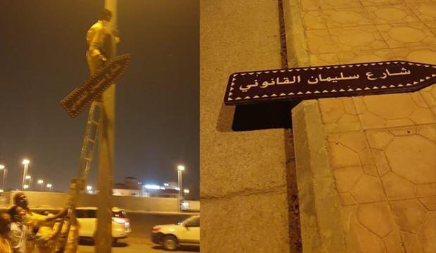Suudi Arabistan'da Kanuni Sultan Süleyman'a büyük terbiyesizlik