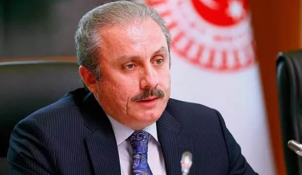 TBMM Başkanı Şentop'tan Ayasofya ve Topuz açıklaması